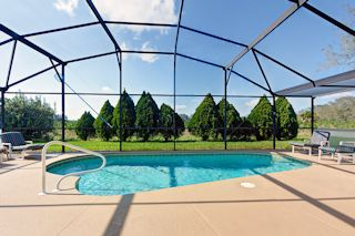 Covered Area by Pool